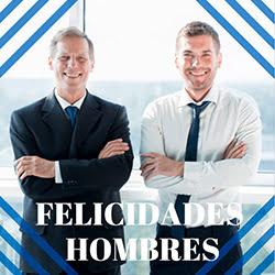felicidades hombres